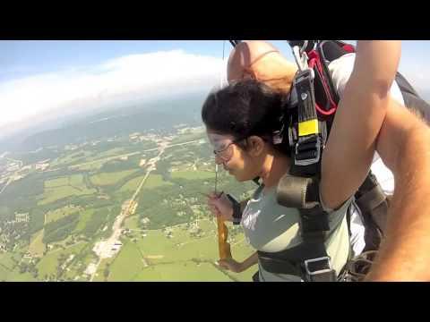 Aradhana from Hyderabad, India gets an adrenaline rush!