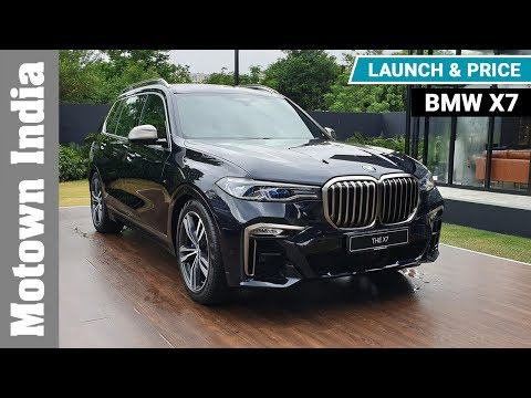 BMW X7 | Launch & Price | Motown India