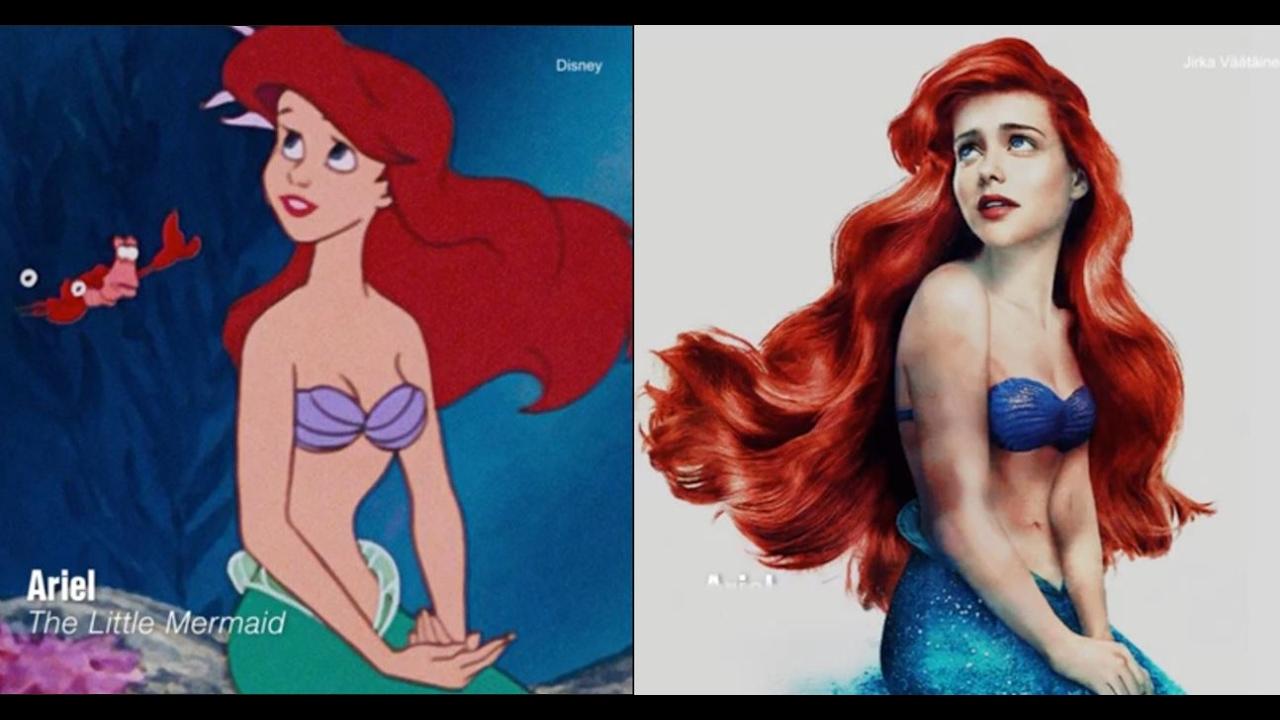 What Disney Princesses Were Like inReal Life advise