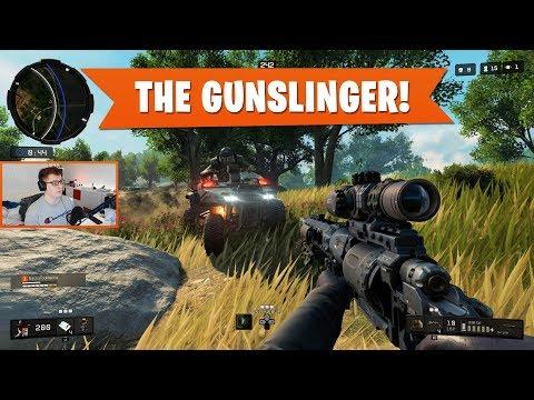 THE GUNSLINGER! | Black Ops 4 Blackout | PS4 Pro