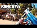 Far Cry 5 - NEW WEAPON SKINS, WEAPON & MORE! (New MP5k, D2, Shovel Launcher & M9)
