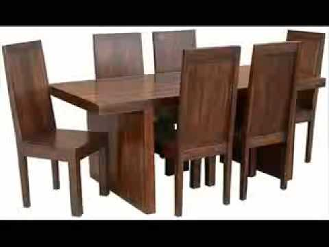 Dining room furniture home furniture indian wooden for Dining room tables you tube