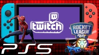 Massive News: PS5 Coming in 2018 -Twitch Support On Switch -Spiderman PS4 Release Date & Super Mario