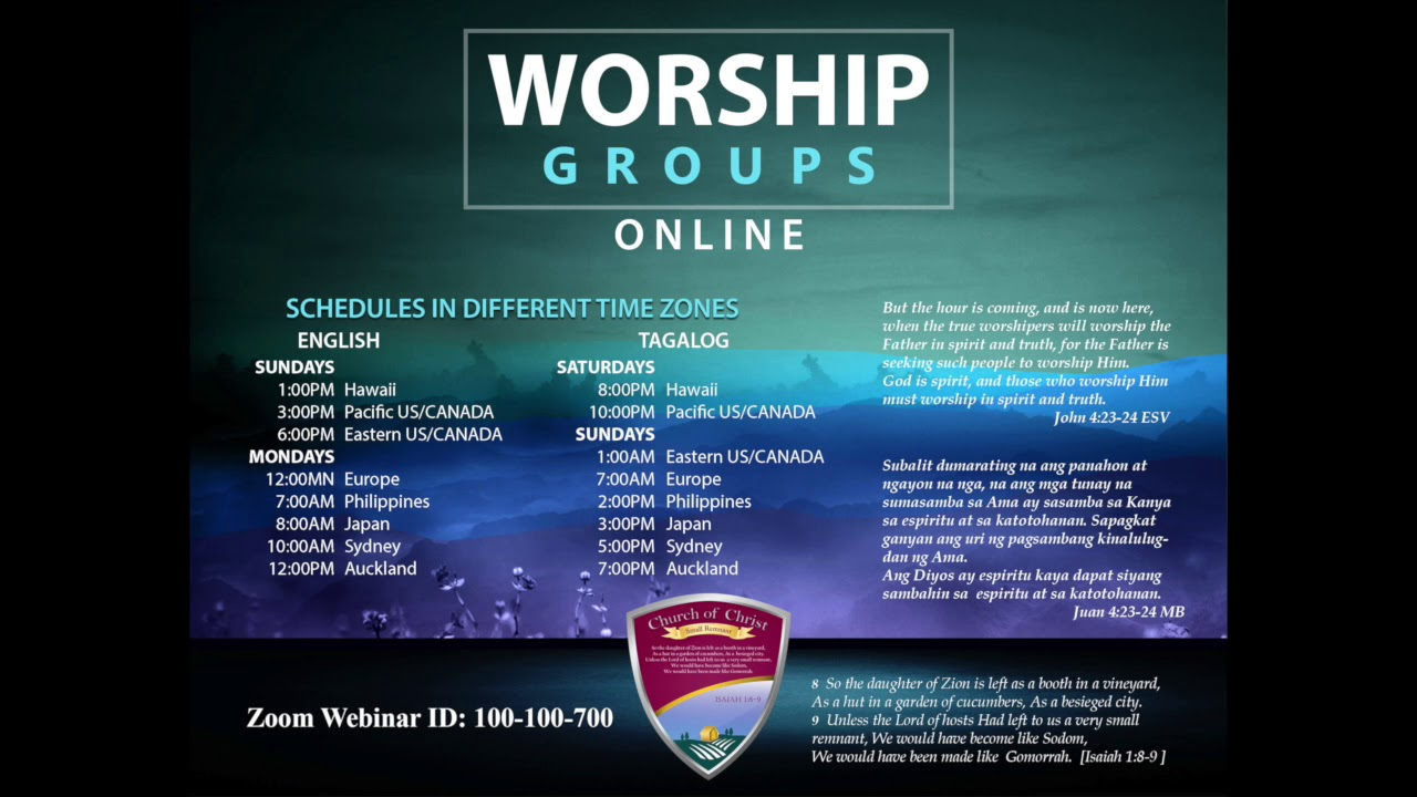 [2018.10.06] Asia Worship Service - Bro. Michael Malalis