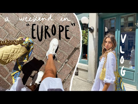 """A weekend in """"Europe"""" // family TRAVEL VLOG"""