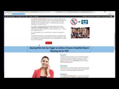 White Label Silent Prospector Client Getting Website