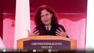 Grundsteinlegung Erfurt - Grußwort von Frau Astrid Rothe-Beinlich, MdL Thüringen
