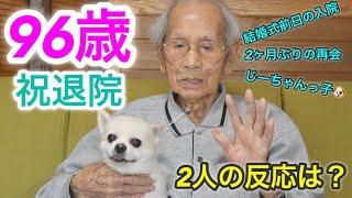 お待たせしました! じーちゃんとの再会! YouTuberらしくカメラ二台使...