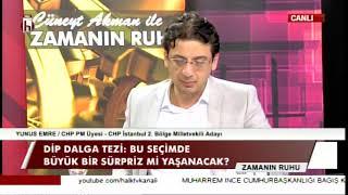 YÜKSELEN DİP DALGA / CÜNEYT AKMAN İLE ZAMANIN RUHU - 10.06.2018 - 1. BÖLÜM