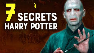 7 SECRETS SUR HARRY POTTER