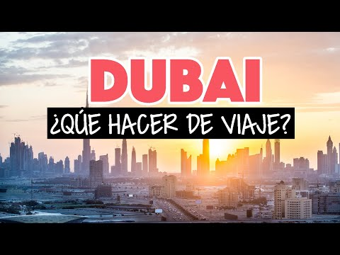 ¿Qué hacer en Dubai?  ➡️  Un día a una semana