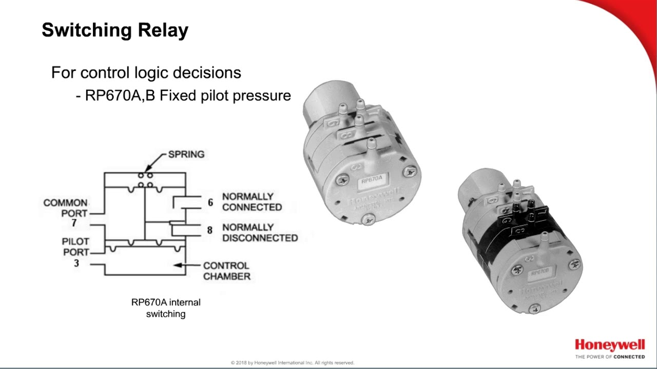 Pneumatics Series: Video 5 - Relays | Training | Honeywell Buildings