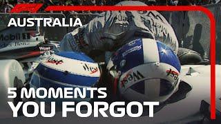 Australian Grand Prix: 5 Forgotten Moments