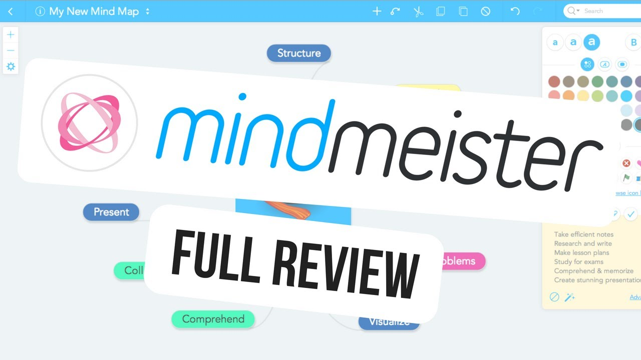 mindmeister full review mind mapping tool - Making A Mind Map Online