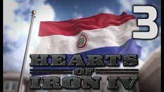 Прохождение Hearts of Iron 4 за Парагвай. Часть 3. Сложная война с Чили
