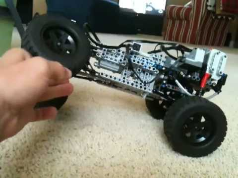 Lego technic leaf spring 4x4 trial truck - YouTube