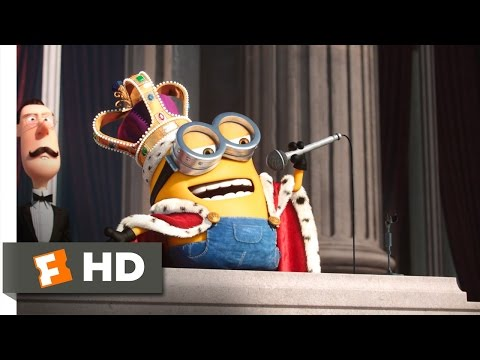 Minions (6/10) Movie CLIP - King Bob! (2015) HD