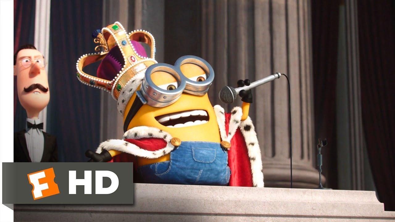 Minions 610 Movie Clip - King Bob 2015 Hd - Youtube-3790