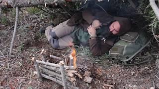 Supervivencia: Cómo improvisar un refugio en el monte. Vídeo blog de Maykol García