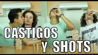 CASTIGOS Y SHOTS - Jenga EXTREMO