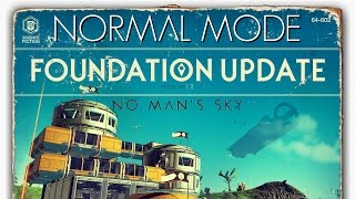 Normal Mode 01: First Base Established (Gameplay Broadcast) - No Man's Sky 1.11 [ps4 720p]