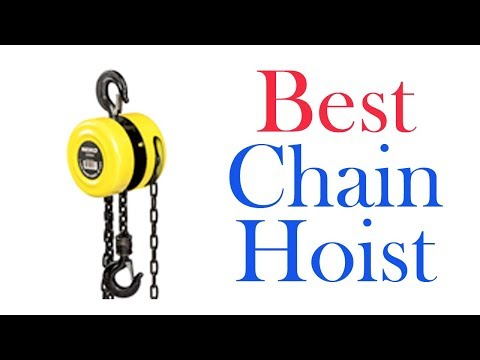 BEST CHAIN HOISTS 2020 | TOP 7 LIST