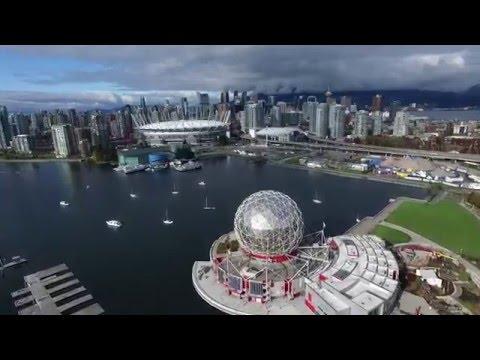 Vancouver from above - DJI Phantom 3