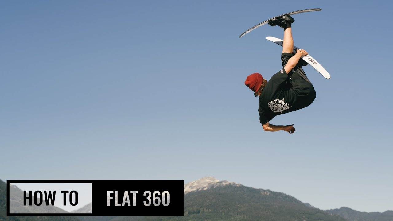 How to flat 360 on skis youtube.