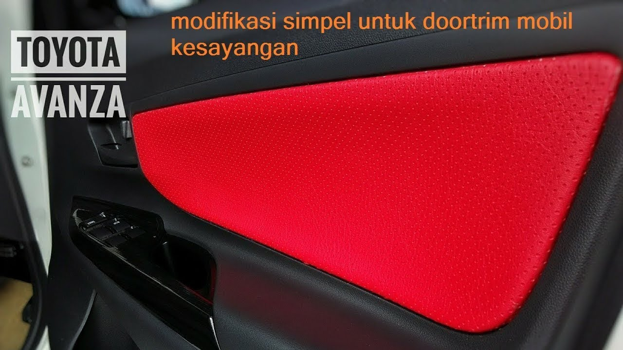 5500 Modifikasi Ringan Mobil Avanza HD