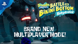 SpongeBob SquarePants: Battle for Bikini Bottom - Rehydrated - Multiplayer Trailer | PS4