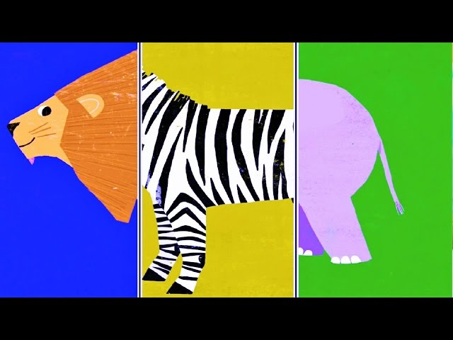 "Baby Play ""Animal Match Up"" ! Learn Animal Names Combined Real Animals"