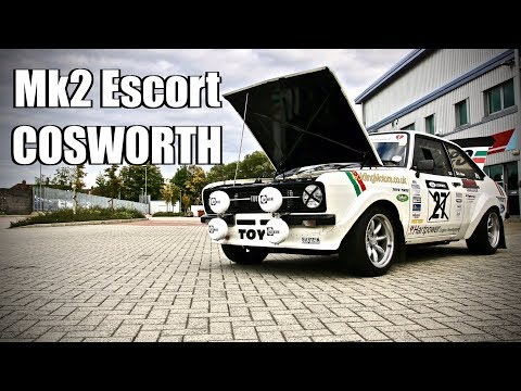 550bhp Mk2 Escort Cosworth (The Nail) Full Throttle Uk Feature