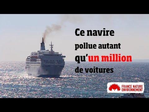 Sète : l'air pollué aux particules fines par les bateaux de croisière - - France 3 Occitanie