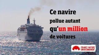 L'insoutenable pollution de l'air du transport maritime