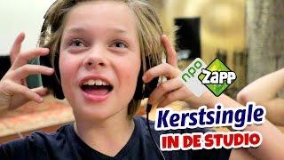 NIEUW KERSTLIEDJE OPNEMEN! (Vlog) - Kinderen voor Kinderen