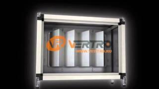 Фильтр карманный укороченный | VERTRO AV 1.0 - AV 5.5(Подробнее на http://www.vertro.ru - Предназначен для очистки воздушного потока от пыли и других твёрдых частиц; -..., 2013-03-12T14:57:04.000Z)