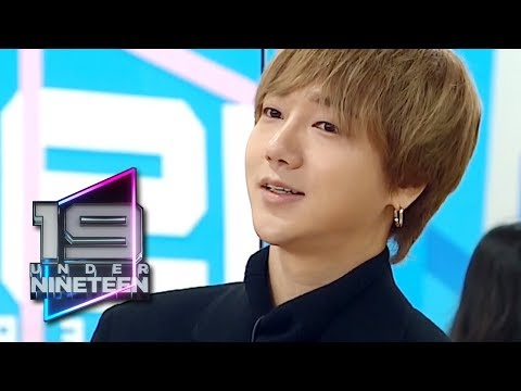 YeSung I think you need to practice for over a year [UNDER NINETEEN Ep 4]