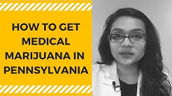 Medical Marijuana- Pennsylvania
