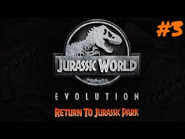 Jurassic World Evolution #3 🦖 Zurück zum Jurassic Park DLC 🦕 Lets Play Deutsch