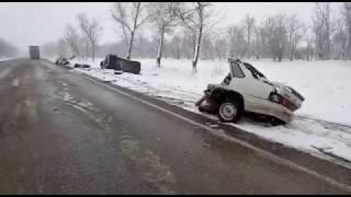 В Красногвардейском районе в результате ДТП два человека пострадали и один погиб