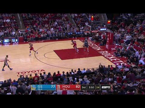3rd Quarter, One Box Video: Houston Rockets vs. Golden State Warriors