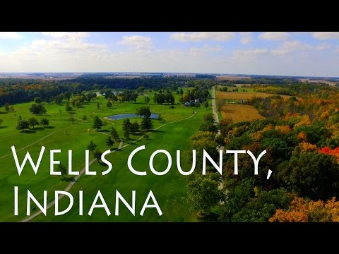 Our Journey through Wells County, Indiana | Bluffton and Ouabache State Park Aerial Vlog