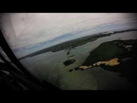 Palau Arrival