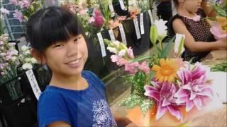 プリティマーメイド 「お花に触れてみよう!」花育 201690731