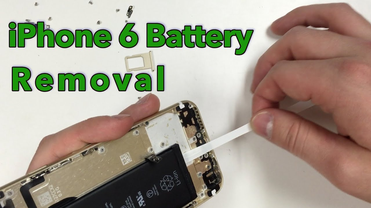 how to remove battery from iphone 5 iphone 6 battery removal 4485