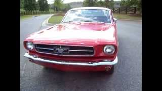 1965 Ford Mustang Fastback Video Tour Walk Around