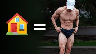 HOME Leg Day To Build Muscle   Day 22