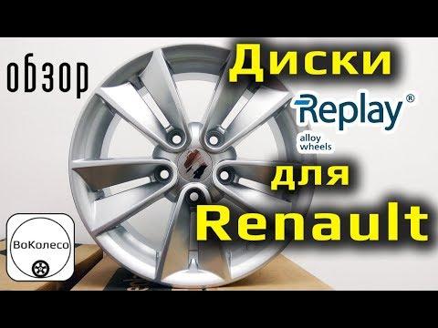 Диски Replay для RENAULT /// обзор