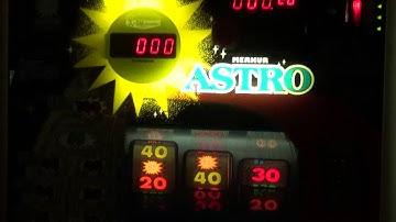 Merkur Astro 1, Geldspielgerät, 30 Pf Spielautomat von 1987, ADP Gauselmann, alter Spielautomat