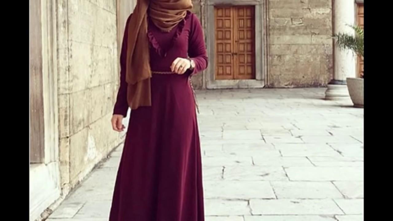 3596faa27fac1 Maxi Dress Hijab Lookbook فساتين طويلة للمحجبات -2- - YouTube